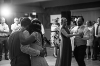Bride and groom during their first dance in Killarney Co Kerry on their wedding day