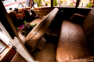 Wedding car interior in Co Cork