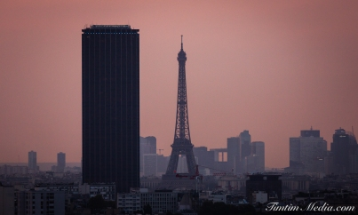 Eiffel Tower Pink